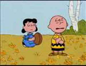 Charlie Brown and Lucy van Pelt