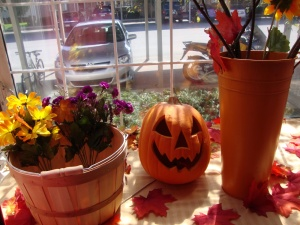 Fall/Halloween window