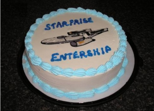 Starprise Entership cake